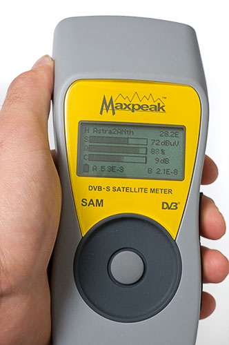 MaxPeak Digital Satellite Meter 2
